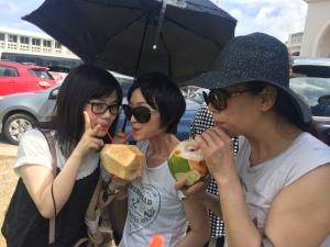 ⑳椰子のジュース②